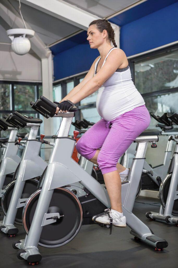 rower stacjonarny w ciąży
